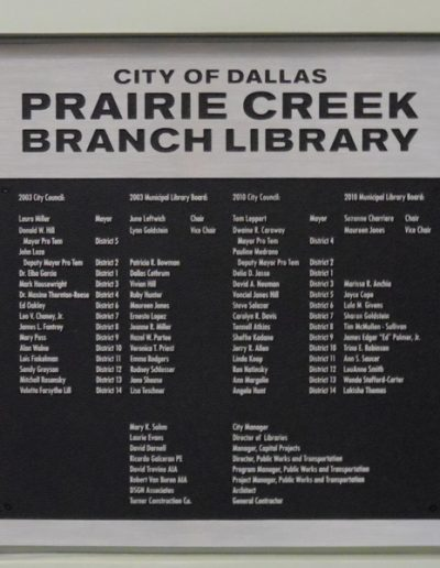 Prairie Creek Library
