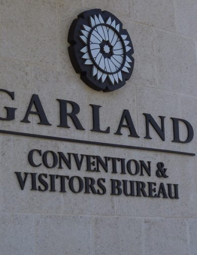 Garland Visitors Logo