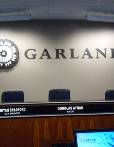 Garland City Hall Council Chamber