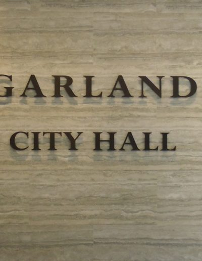 Garland City Hall Foyer