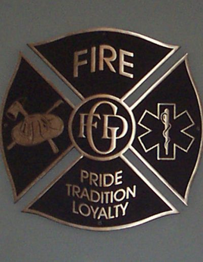 Garland Fire Logo