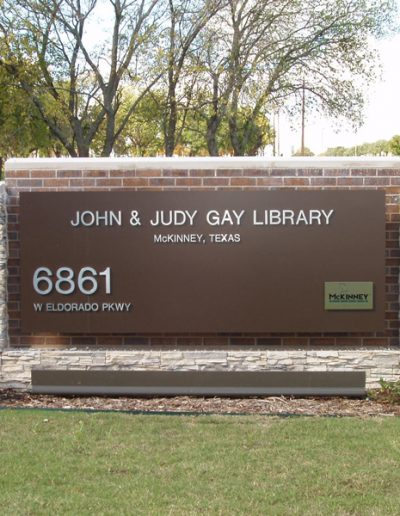 John and Judy Gay Library