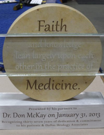 Dr. McKay Sign