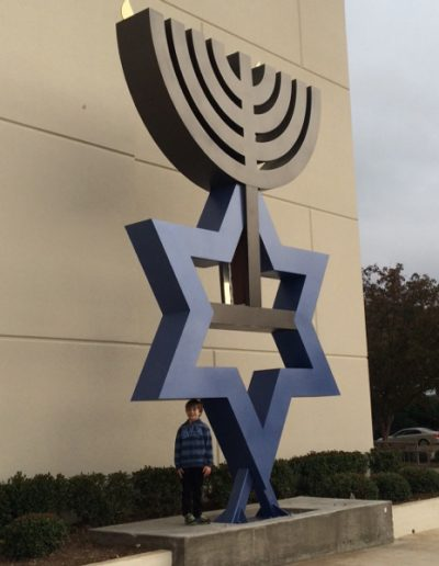 Menorah Sculpture